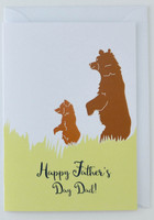 Two Bears - Father's Day Card