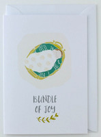 Bundle of Joy - New Born Card