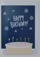 Birthday Cake - Birthday Card