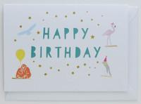 Party Animals - Birthday Card