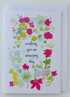 Wishing you an amazing day - Birthday Card