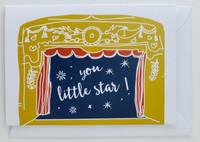 You Little Star - Birthday Card