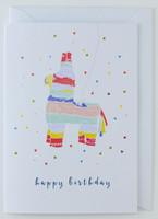 Piñata - Birthday Card
