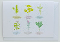 Herb collection - Greeting Card