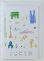 Tokyo Papercuts - Greeting Card