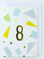 8 years old - Birthday Card