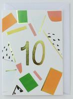10 years old - Birthday Card
