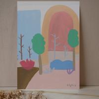 Autumn Woods Print unframed print