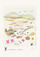 Ingleborough, Yorkshire Dales Scene Art Print created from an original painting unframed