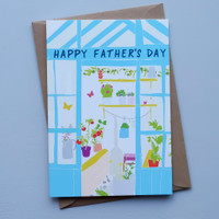 Father's Day Greenhouse Card