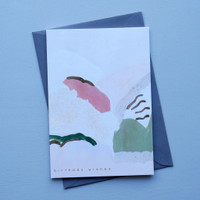 Painted Birthday Hills Card