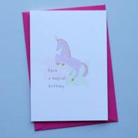 Have a Magical Unicorn Birthday Card