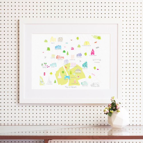 Map Prints London Maps Page 1 Holly Francesca