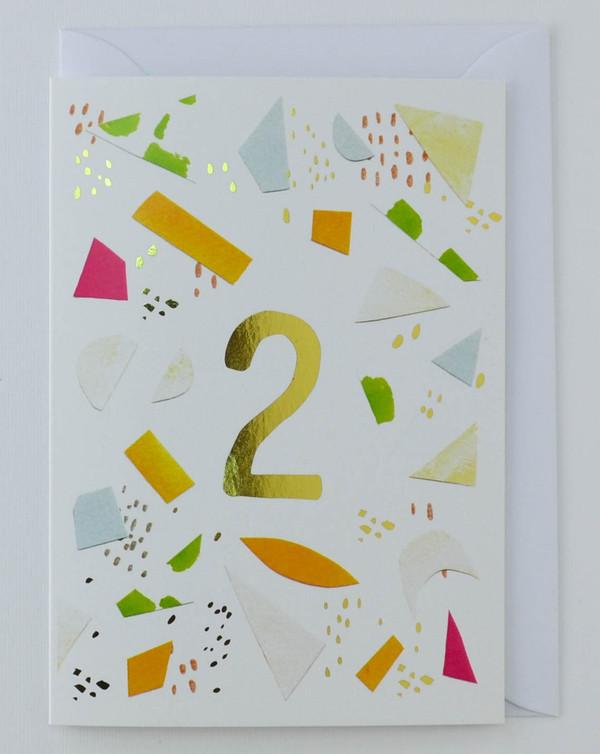 2 years old - Birthday Card