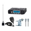 Midland MXT115VP3 MicroMobile Two Way Radio with Mounting Hardware and Antenna