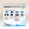 Pilot Automotive KN95 Safety Mask  Pack of 3 Back of Package