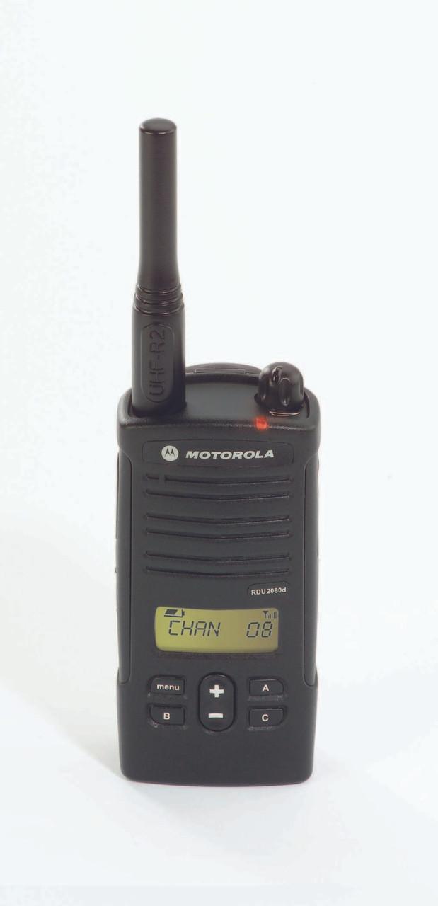 Motorola RDU2080d 2 Watt 8 Channel UHF two way radio