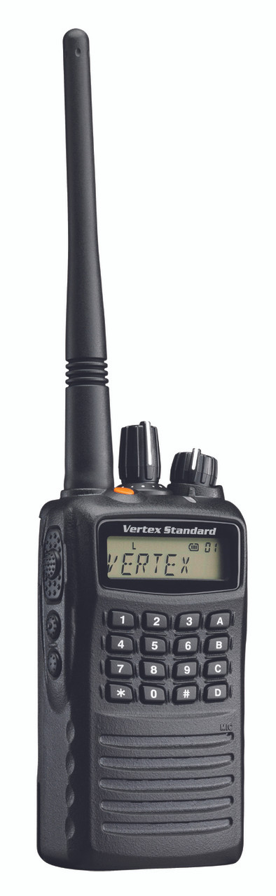 Vertex Standard VX-459 UHF or VHF 5 Watt 512 Channel Two Way Radio