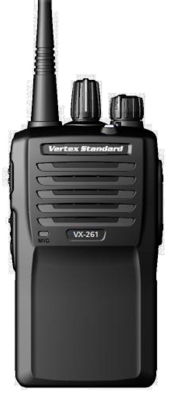 Vertex Standard VX-261 UHF or VHF two way radio