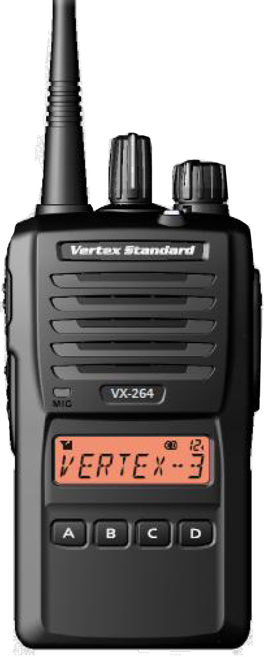 Vertex Standard VX-264 UHF of VHF 5 Watt Two Way Radio