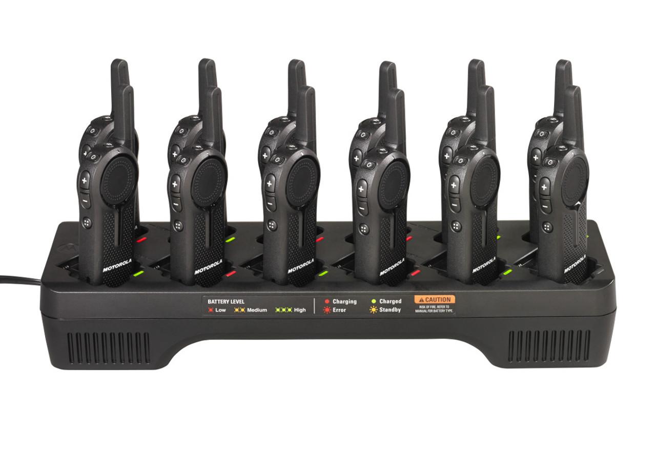 Motorola PMLN7136 DLR Series 12 Port Charging Tray