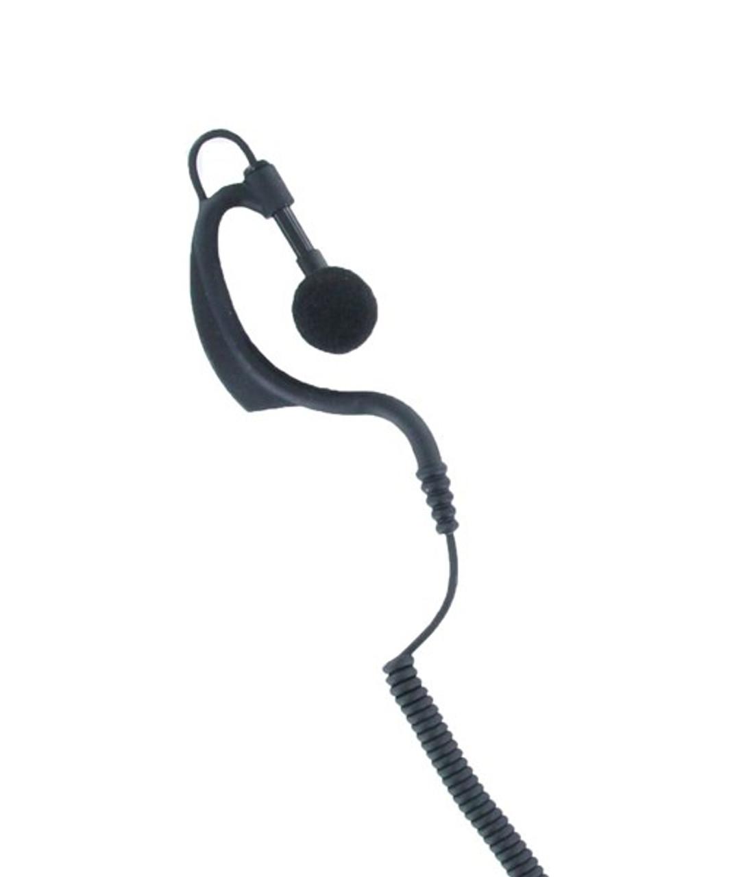 Astra G36 Touch Free Earpiece w/ Wireless Bracelet for Motorola and Kenwood walkie talkies