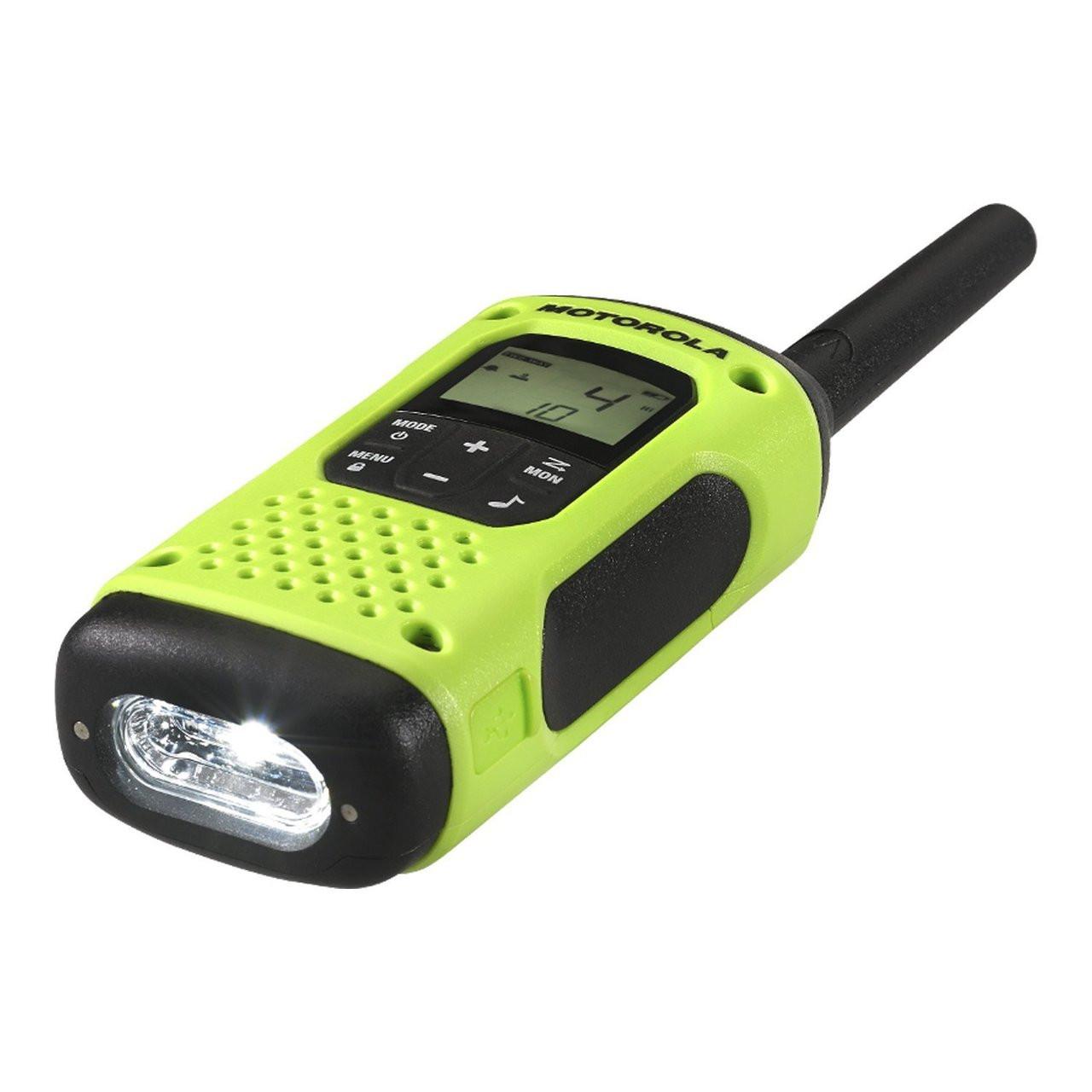 Motorola T600 Waterproof Two Way Radio with Integrated Flashlight