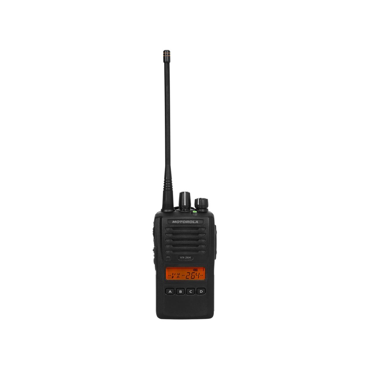 Motorola VX-264 UHF or VHF Two Way Radio