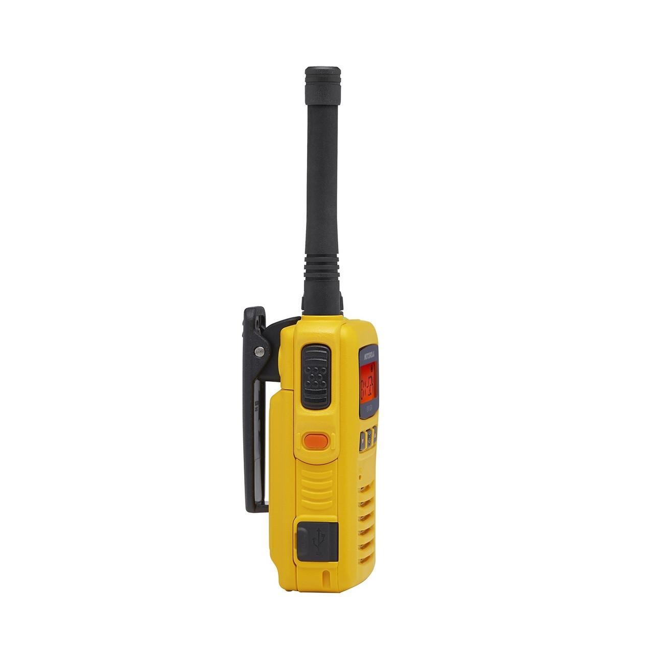 Motorola EVX-S24Y 3 Watt UHF Digital Two Way Radio