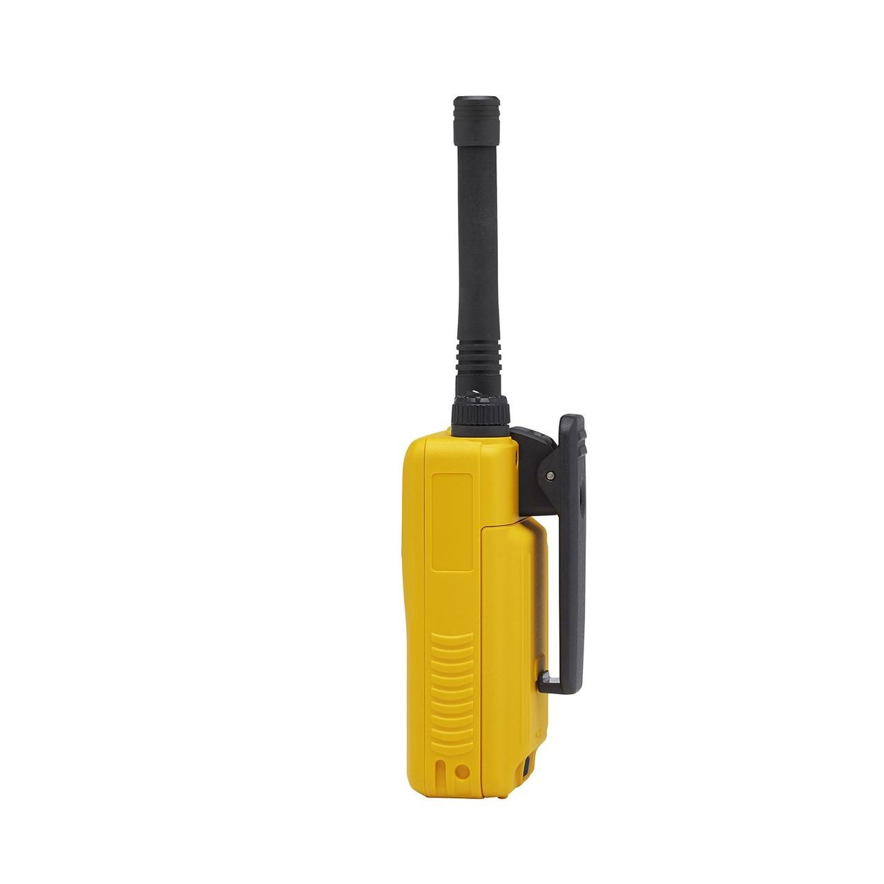 Motorola EVX-24S Yellow Digital 3 Watt UHF Two Way Radio