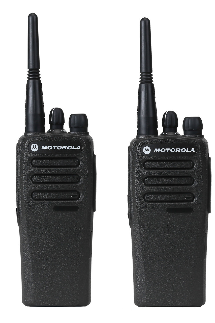 Motorola CP200d Digital UHF Two Way Radio 2 Pack