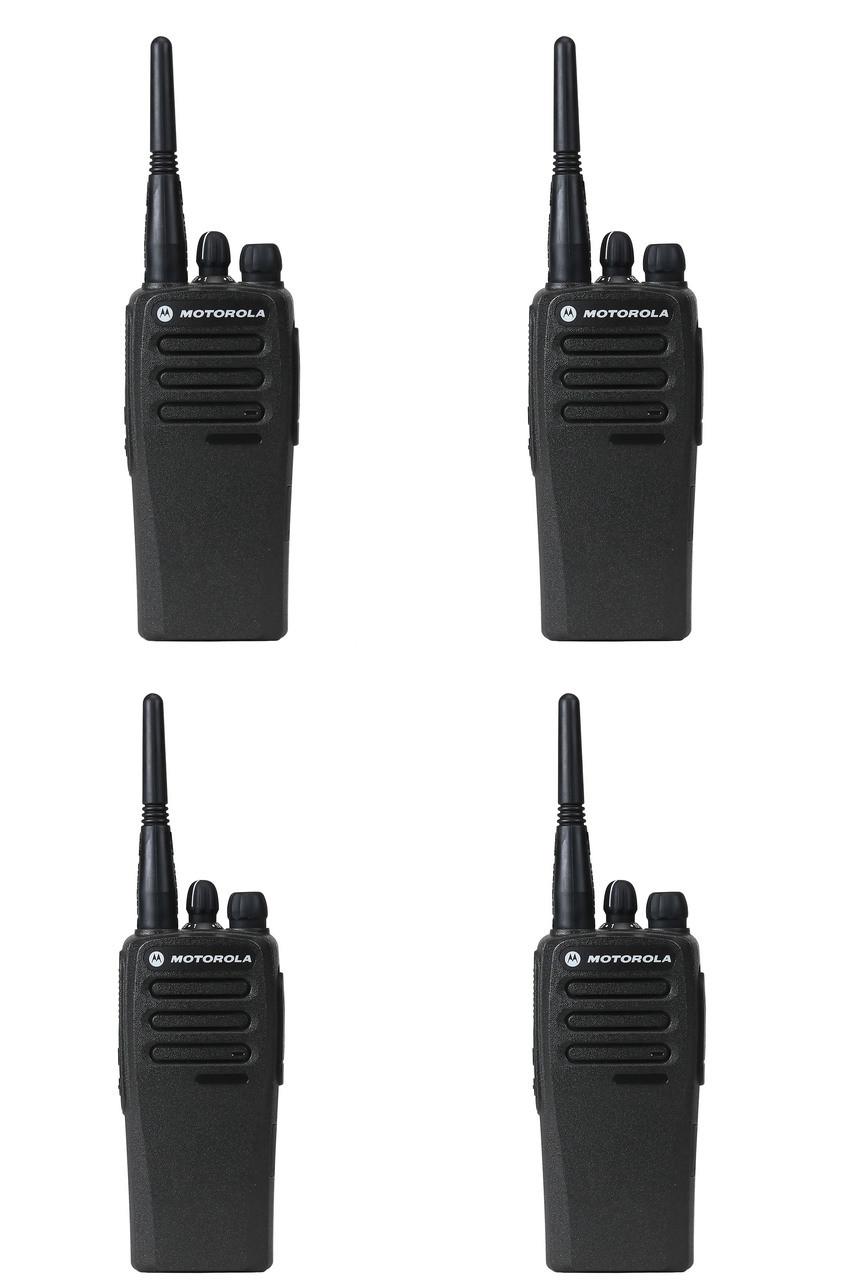 Motorola CP200d UHF Digital Two Way Radio, Pack of 4