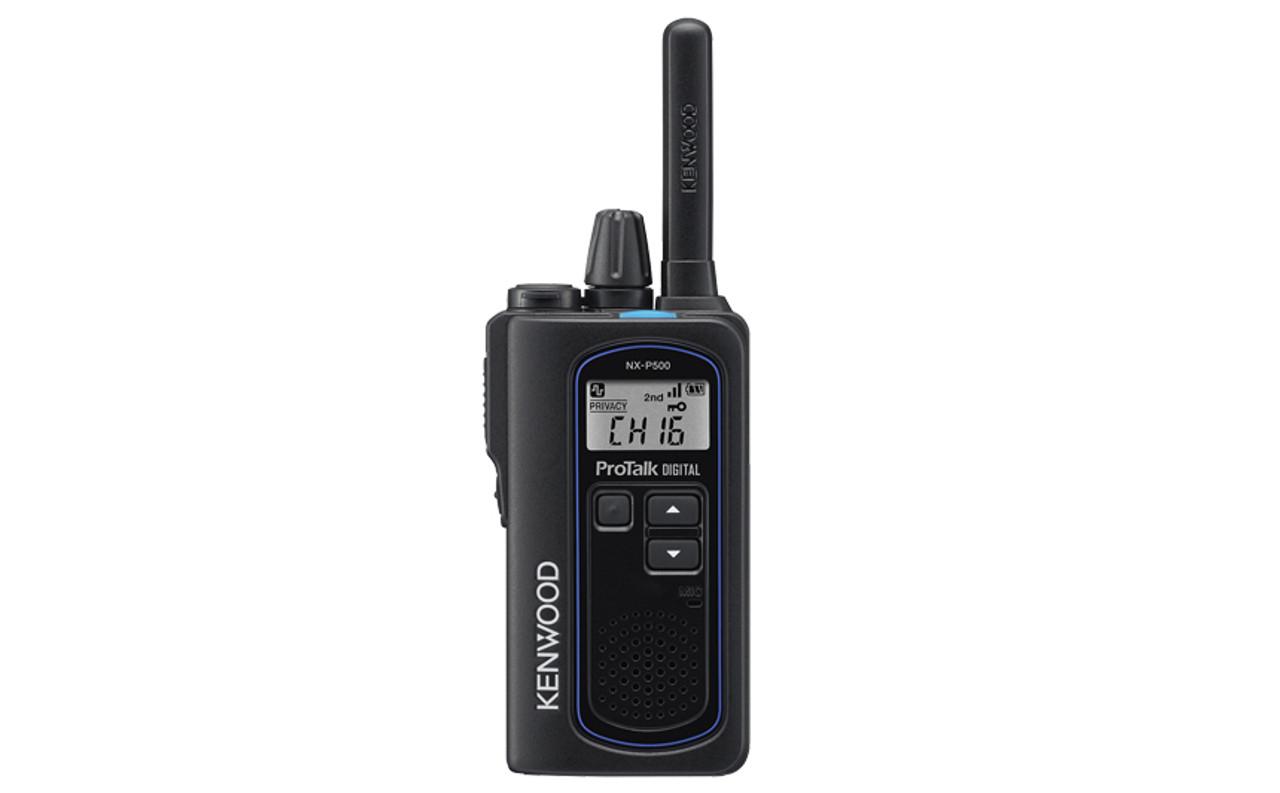 Kenwood ProTalk NX-P500 Waterproof Digital UHF Two Way Radio