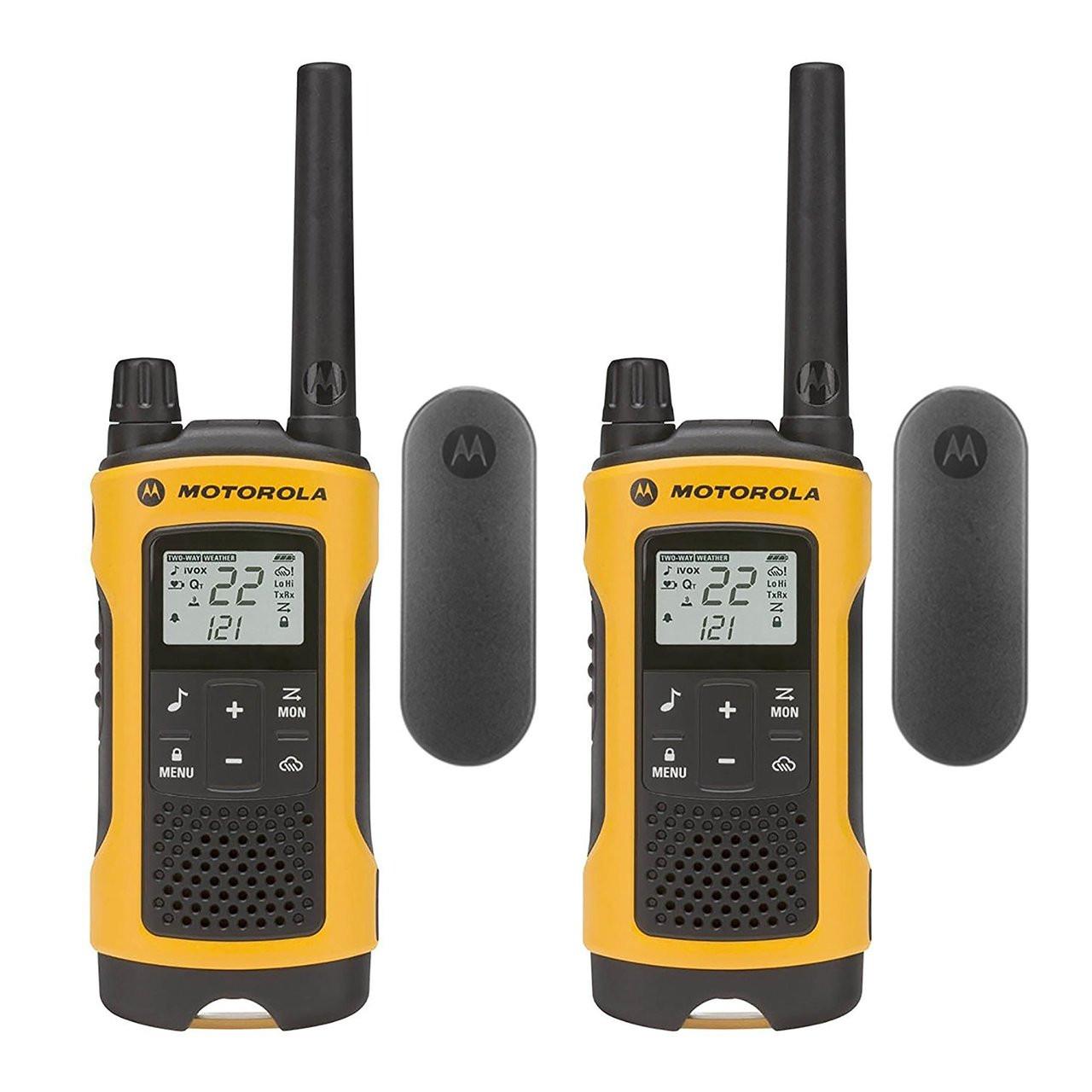 Motorola T402 Talkabout Walkie Talkies, Pack of 6