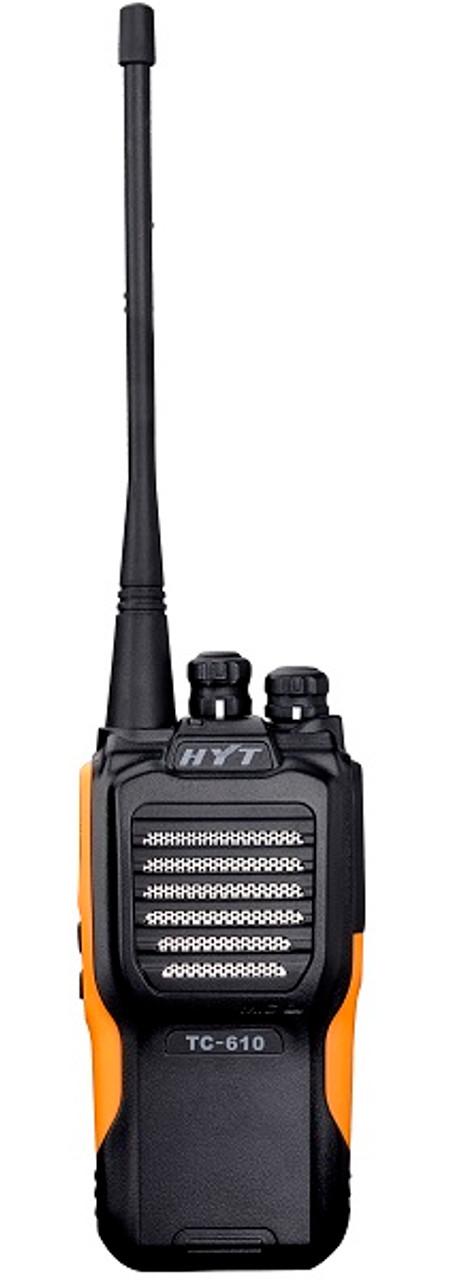 Hytera TC-610 5 Watt 16 Channel Analog Two Way Radio