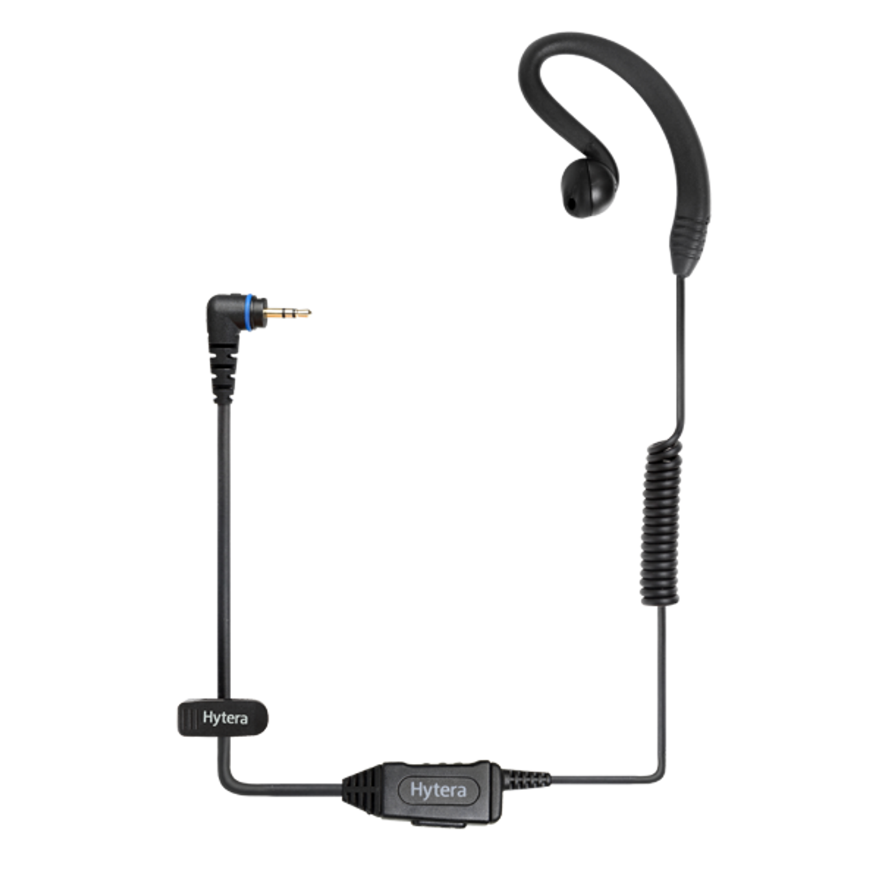 Hytera EHS16 C Ring Headset with In-Line Push to Talk Mic