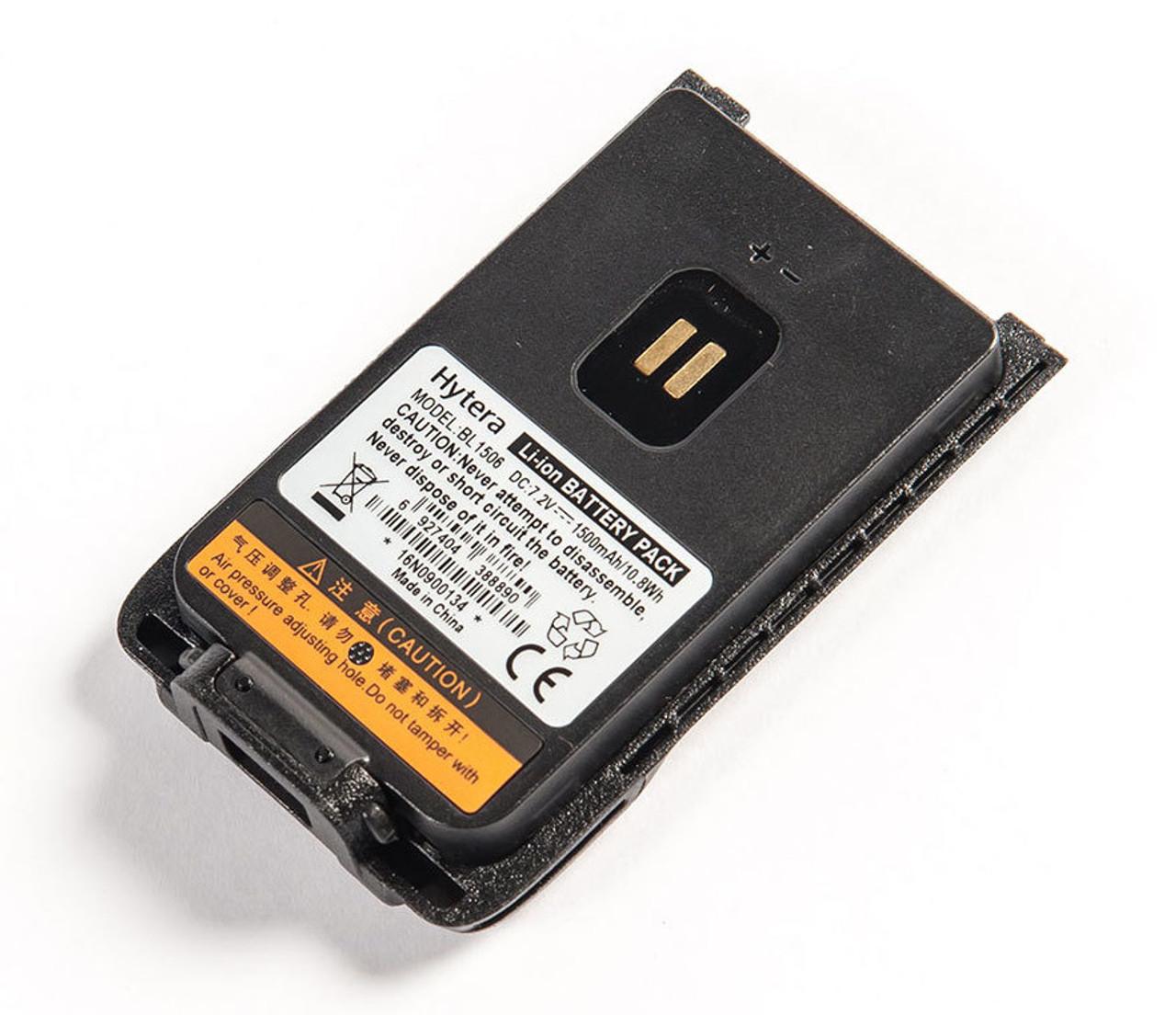 Hytera BL1506 1500 mAh Lithium Ion Battery