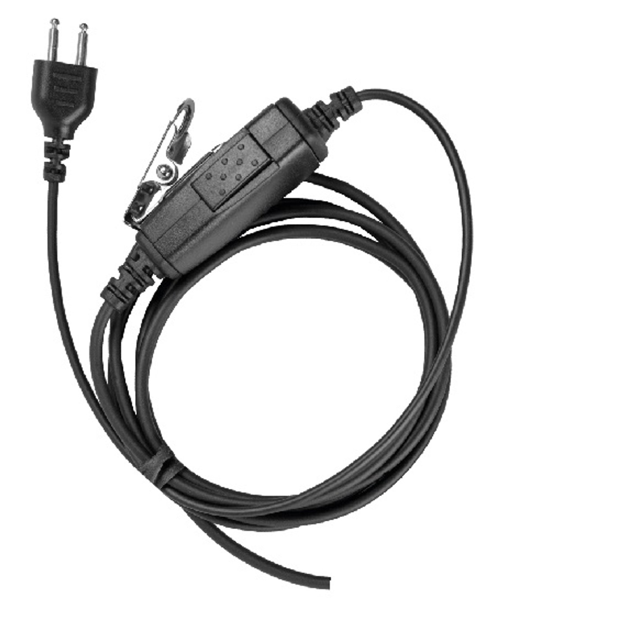 Snap Lock Push to Talk Mic Cable