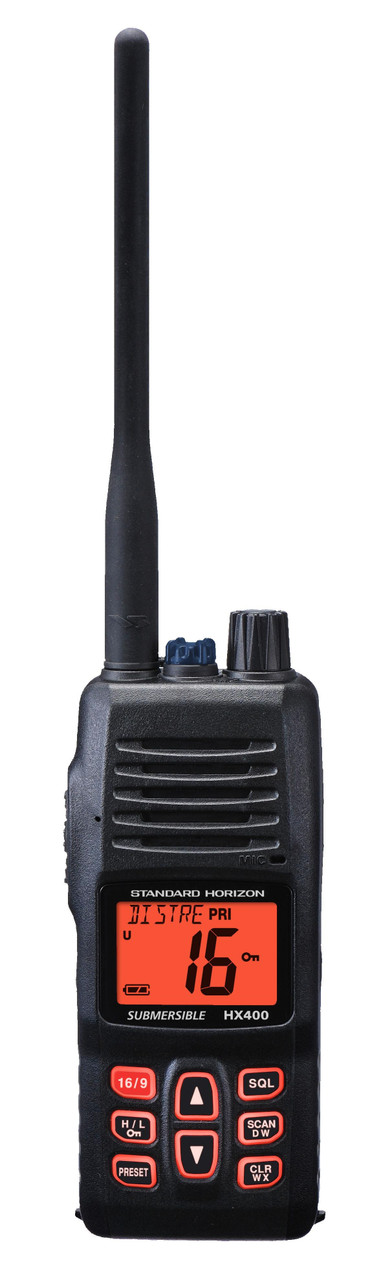 Standard Horizon HX400IS 5 Watt VHF Waterproof Marine Radio