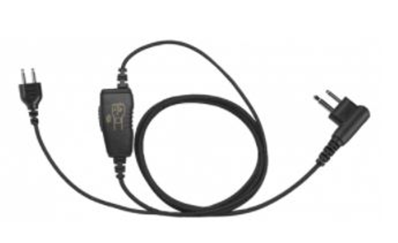 Wired Fox Touch Free Headset for Motorola Two Way Radios with Snap Lock Interchangeable Connection