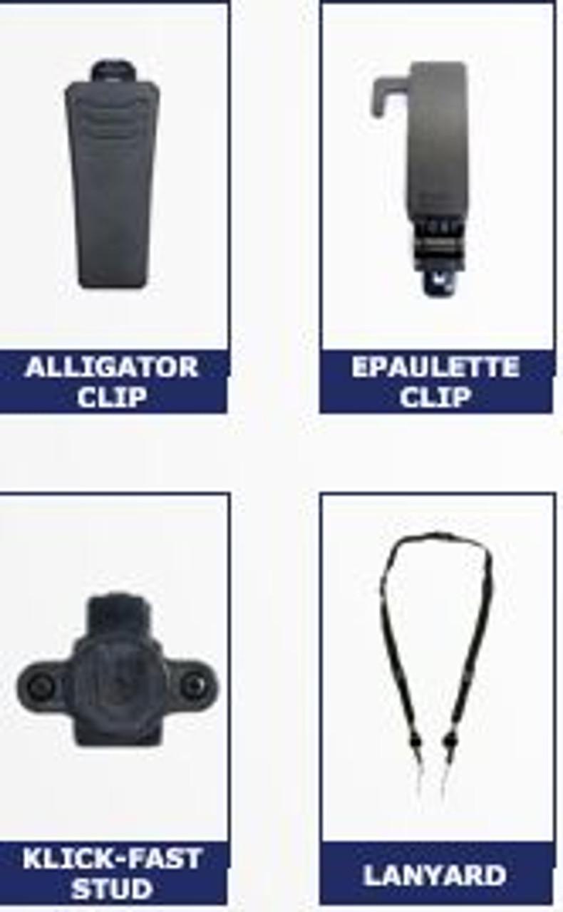 Motorola VT-100 Body Camera Mounting Solutions