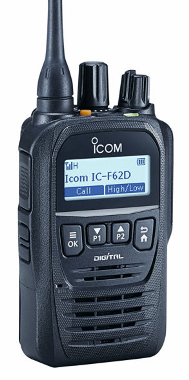 ICOM F62D UL 5 Watt UHF Intrinsically Safe Two Way Radio