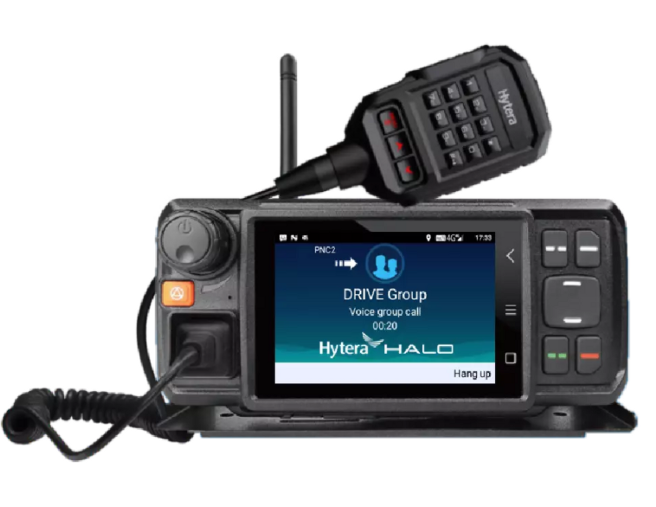 Hytera MNC580 Push to Talk Over Cellular & WiFi Mobile Two Way Radio