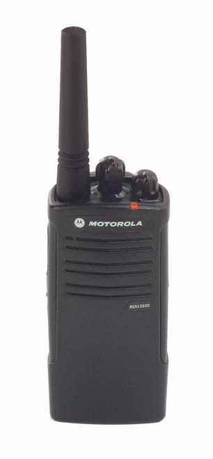 Motorola RDU2020 2 Watt 2 Channel UHF two way radio
