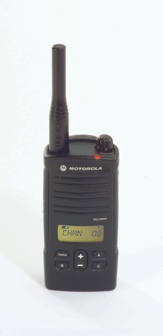 Motorola RDU2080d 2 Watt 8 Channel UHF two way radio