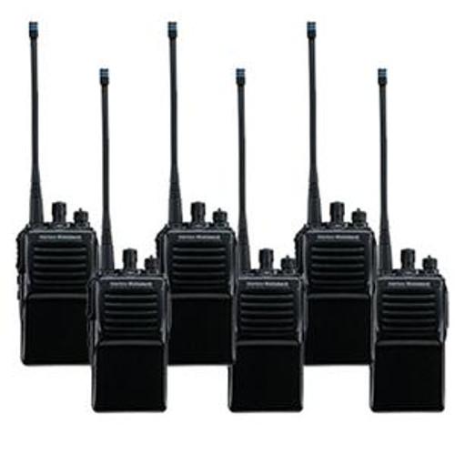 Vertex Standard VX-231 Bundle of six two way radios