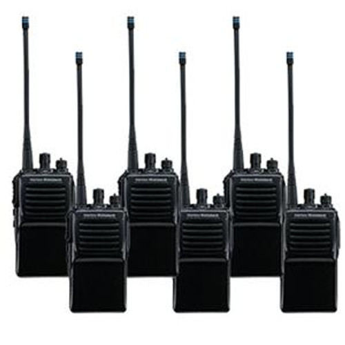 Vertex Standard VX-231 Bundle with six MH-450S speaker mics