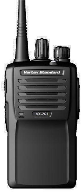 Vertex Standard VX-261 UHF or VHF two way radio