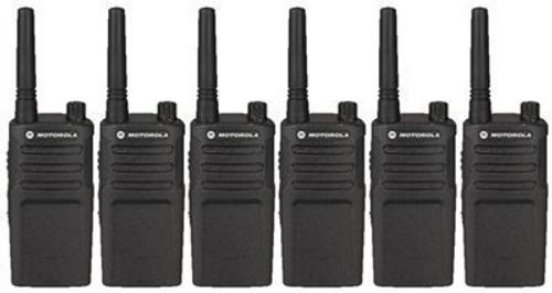 Motorola RMM2050 MURS Two Way Radio Pack of 6
