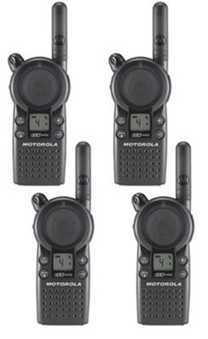 Motorola CLS1110 1 Watt 1 Channel UHF Two Way Radio 4 Pack